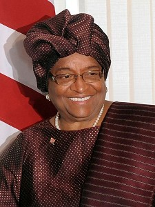 Ellen Johnson-Sirleaf – president of Liberia