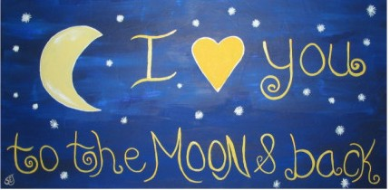 i love u to the moon and back2 I Love Myself Project: 101 I love Myself Quotes
