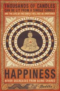 Budda happiness image quote