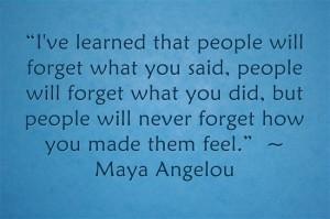 Maya Angelou Image quote