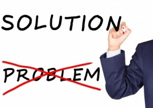 Solution versus problem image