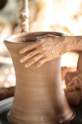 "Making Pottery"""