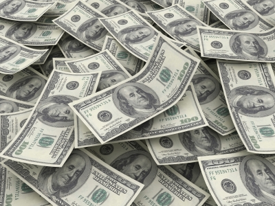 """Money Pile $100 Dollar Bills"""