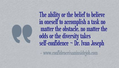 Is Self-Confidence a Skill?