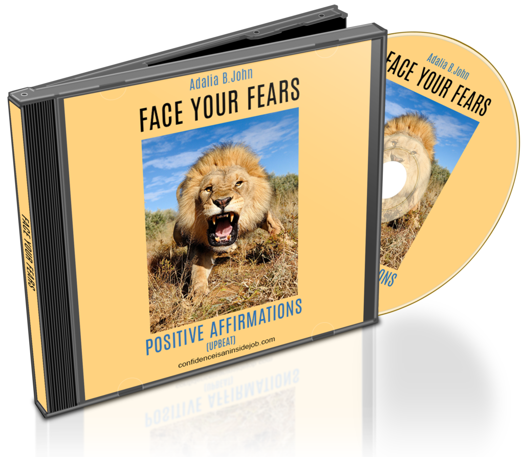 fear affirmations image
