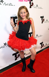 Noah Cyrus 2009 Teen Choice Pre Party Red Carpet Arrival