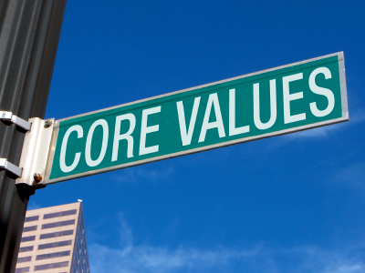 Personal and Business Core Values: Do You Know Yours