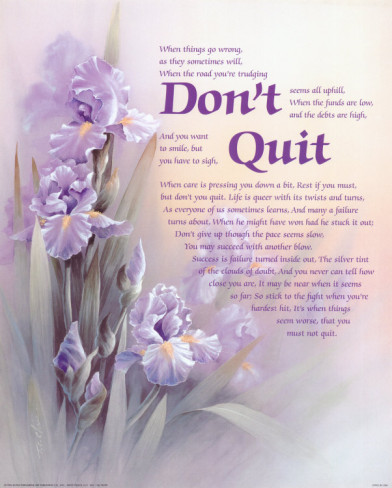 25 Don't Quit Inspirational Quotes.