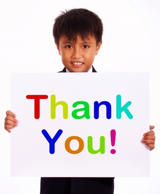The Importance of Saying Thank You and Asking For It
