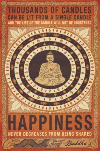 Budda happiness image quote
