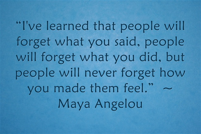 10 Inspirational Image Quotes from Maya Angelou