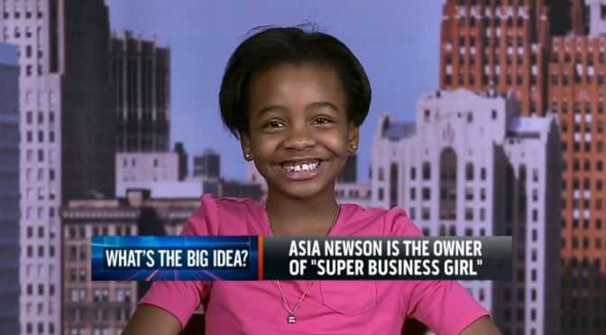 Inspiration From Asia Newson 11 Year Entrepreneur