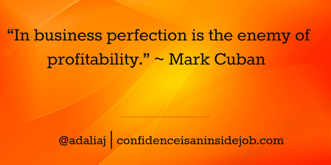 30 Perfectionism Quotes to Inspire Entrepreneurial Success